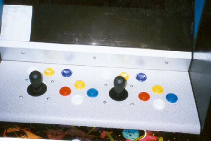 Player's view of control panel